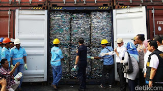 Sampah Asing dari Jerman Hingga AS Masuk RI