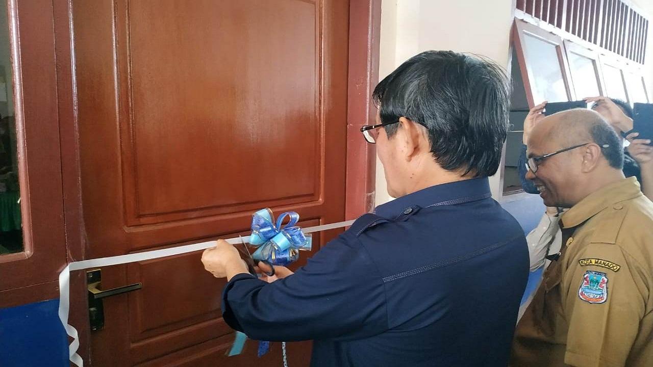 Walikota Manado Resmikan Ruang Kelas Baru SD Negeri 12 Manado
