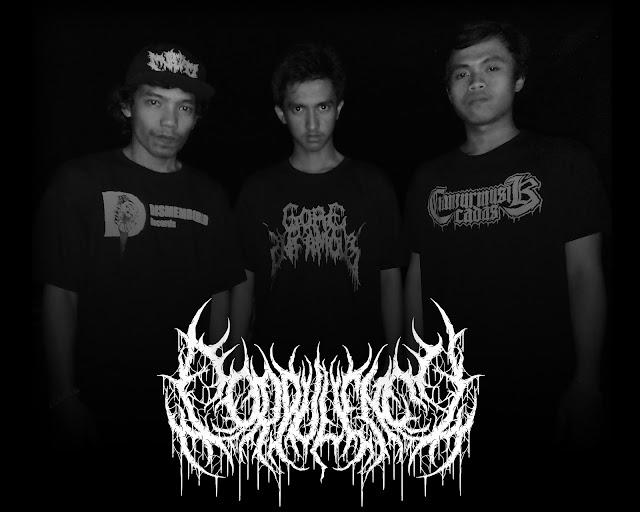 """Corpulency band Brutal Death Metal asal Cianjur lepas Single perdana """"Perut Busuk"""""""