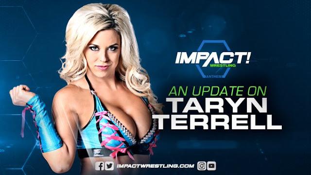 Ezért nem lesz ott Taryn Terrell a Bound for Glory-n