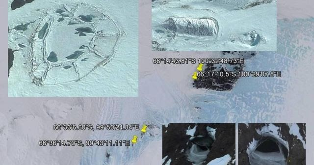 new illuminati: Ruins found in Antarctica on Google Earth ...