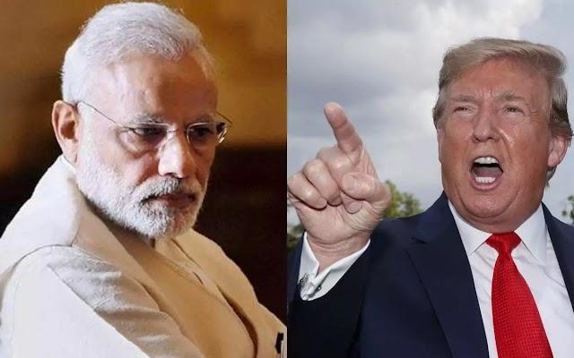 US President Donald Trump बोले- Prime Minister Narendra Modi सीमा विवाद पर अच्छे मूड में नहीं हैं