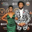 Photos: Singer Tonye & Praiz dazzle at AMVCAs 2015 red carpet