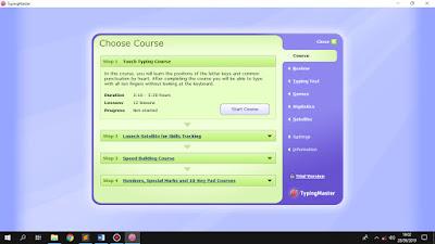 Cara Menginstall Typing Master Pro Full Version Di Laptop Dan PC