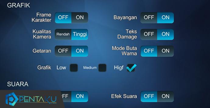 Trik agar tidak lag main Mobile Legends