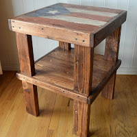 Flag End Table, Over The Apple Tree