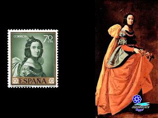 Francisco de Zurbarán - Santa Isabel de Portugal 1635