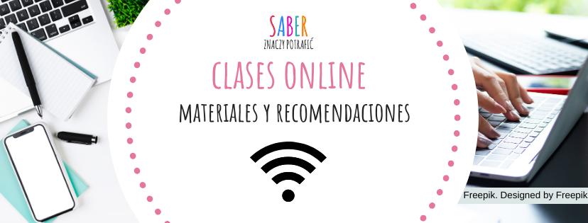 CLASES EN LÍNEA: materiales y recomendaciones | LEKCJE ONLINE: materiały i rekomendacje