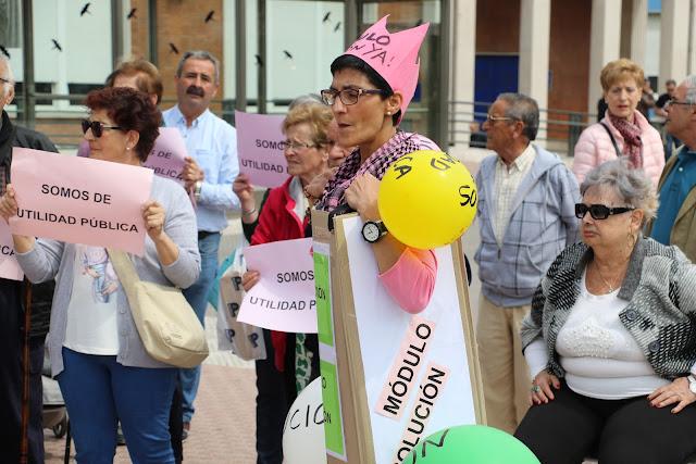 Protesta en Cruces ante el posible cierre del Módulo de Salud Mental