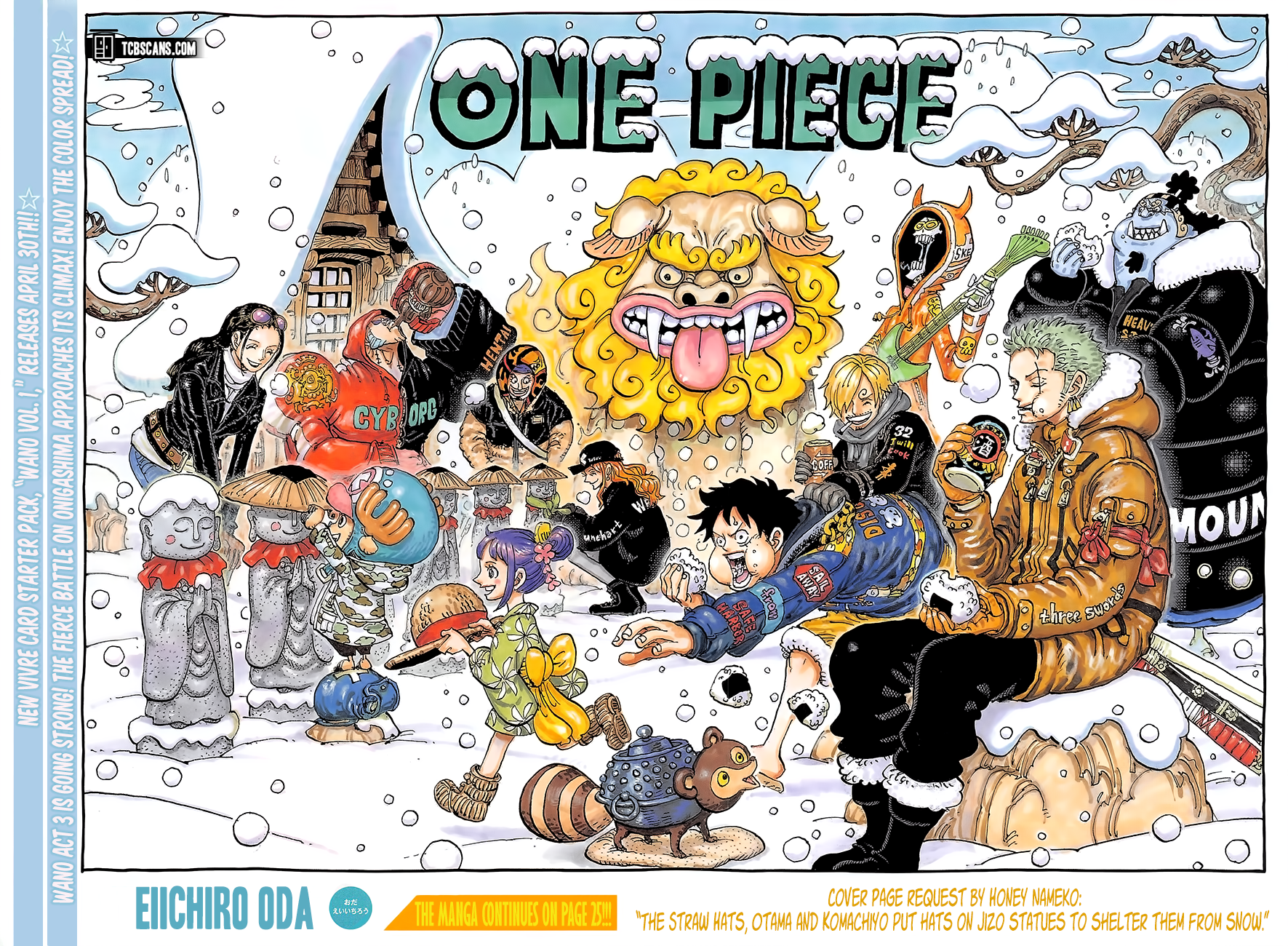 One Piece 1009 TH