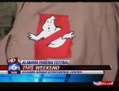 GHOSTBUSTERSMANIA COM: TV: FOX6 - Alabama Ghostbusters, with