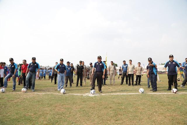 Gubernur Hadiri Open Ceremony dan Kick Off Sepak Bola U-20 Piala Gubernur di OKU