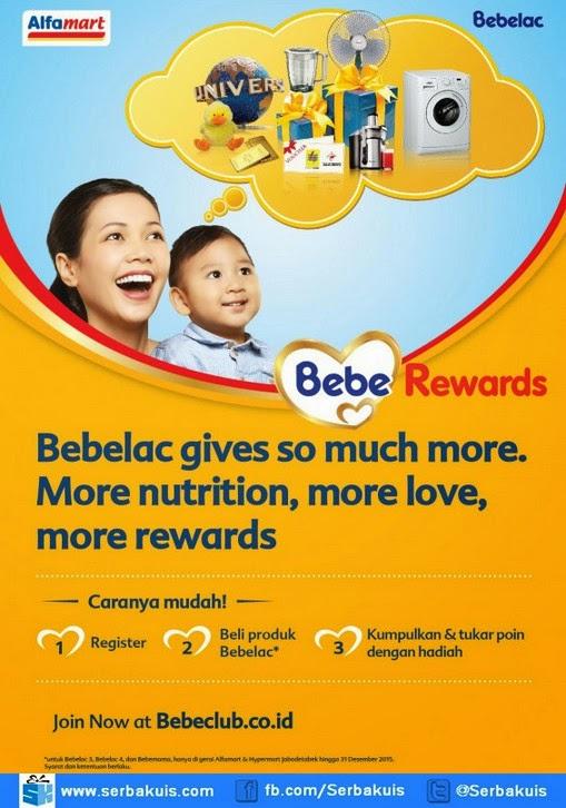 Promo Bebe Rewards Berhadiah Extract Juicer Oxone, dll