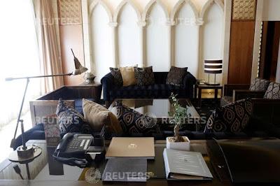Una habitación de una suite del Hotel King David, 15 de mayo del 2017. / Nir Elias / Reuters