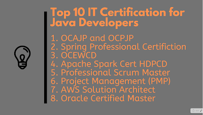 Top 10 IT Certifications for Java Developers in 2020