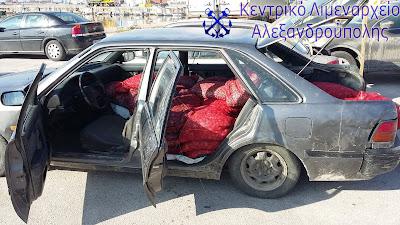 Κατάσχεση (2.319) κιλών οστράκων ακατάλληλων για ανθρώπινη κατανάλωση στην Αλεξανδρούπολη και συλλήψεις ημεδαπών