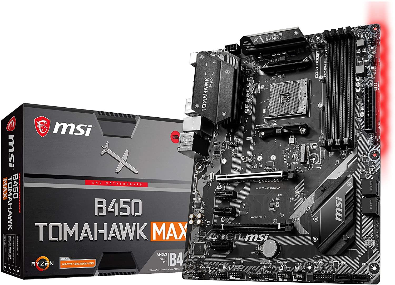 Review MSI Arsenal B450 TOMAHAWK Max Gaming Motherboard