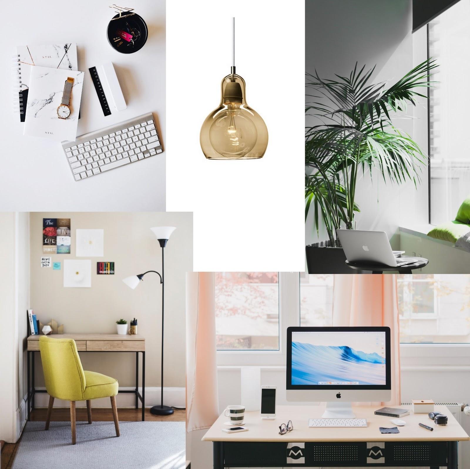 Home office schreibtisch inspiration