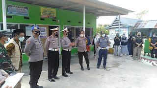 Penilaian Lomba Kawasan Kampung Terib Lalu Lintas Oleh Direktorat Lalu Luntas Polda Sul-Sul