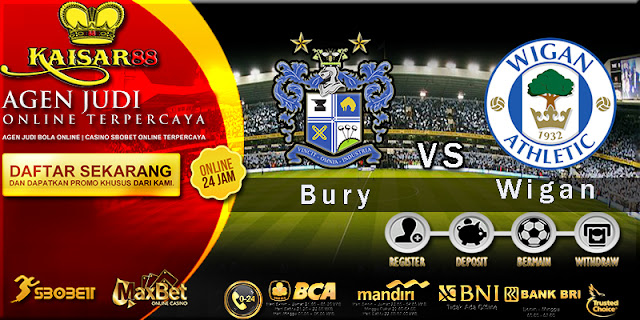 Prediksi Bury vs Wigan Athletic 24 Maret 2018