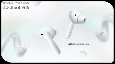 Oppo Enco W51 True Wireless Earphones Launched: Check Price, Specifications & More