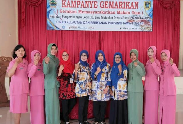 Babinsa Karangnongko Ikut Sukseskan Gemarikan Bersama Siswa SD