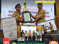 Desain Poster Juara 1 Jawara Nasional 2019