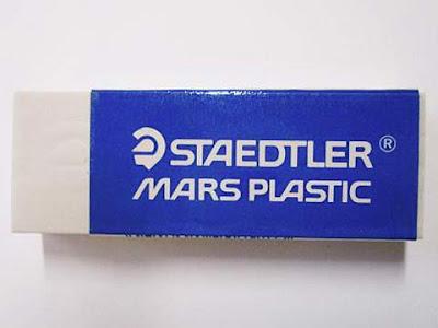 Gomma bianca Mars Plastic della Staedtler