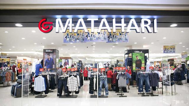 Lowongan Kerja Banyak Posisi PT Matahari Department Store Tbk Penempatan Tangerang Serang dan Cilegon