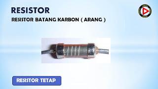 Resistor karbon
