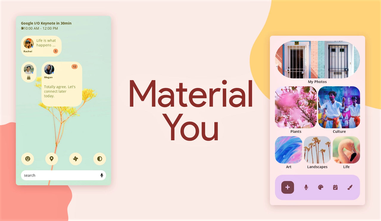 The First Android Apps To Use Android 12's Material You Theming