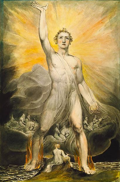 William Blake Angel of Revelation