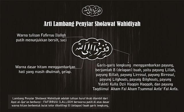Arti Lambang Penyiar Sholawat Wahidiyah-PSW Jateng