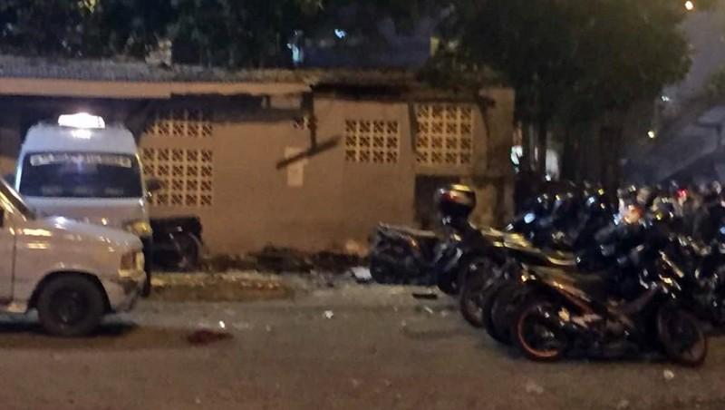 Bom bunuh diri di toilet Terminal Kampung Melayu