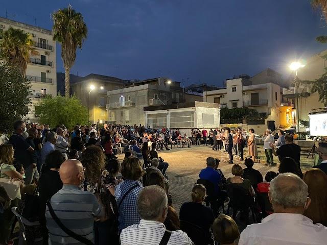 Ricostruiamo Siculiana: grande partecipazione per l'apertura della campagna elettorale
