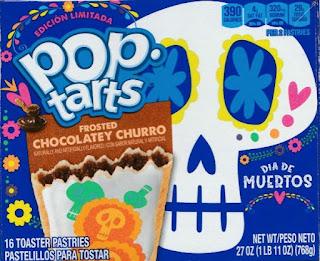 Front of Dia De Muertos Pop-Tarts box