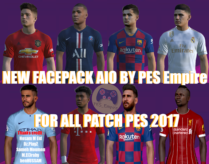 Empire New Season 2020 PES 2017 New Facepack AIO 2020 By PES Empire