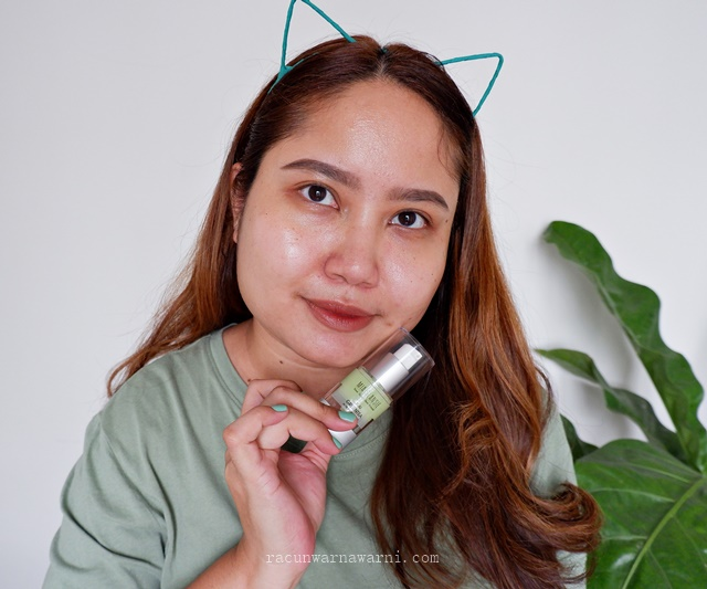 Review Mia Glansie Jeju Green tea Acne Serum