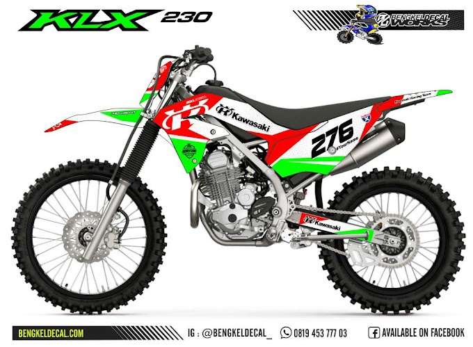 KLX 230 - R - GreenRed