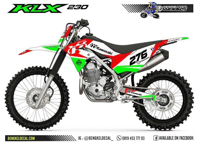 KLX 230 - R - GreenRed
