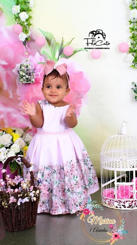 A linda Marina vai celebrar seu primeiro aninho em grande estilo