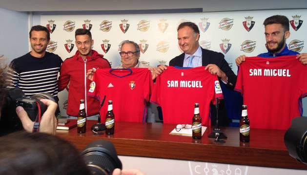 Osasuna ficha a San Miguel para las tres próximas temporadas