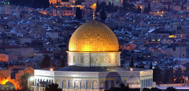 Dome of Rock In The Holy Land