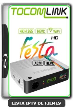 Tocomlink Festa HD Nova Atualização Satélite SKS keys 61w ON V1.78 - 29-03-2020