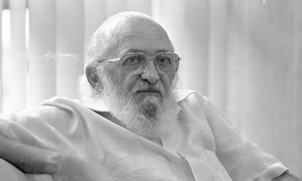 Paulo Freire: No puedo criticar por pura envidia, por pura rabia o simplemente para hacerme presente