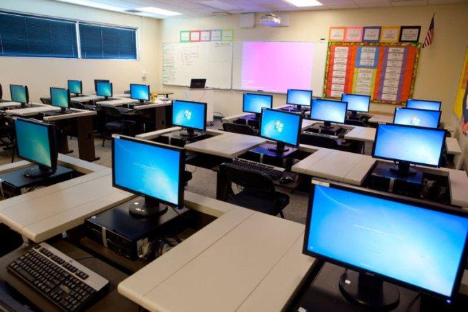 high tech classrooms