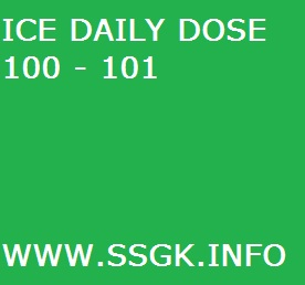 ICE DAILY DOSE 100 - 101