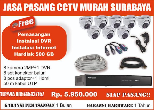 jasa pasang cctv murah surabaya no  3 - 085745437157