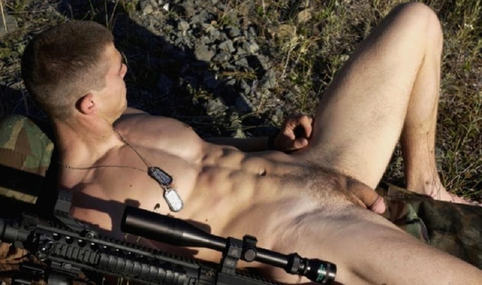 Army gay stud