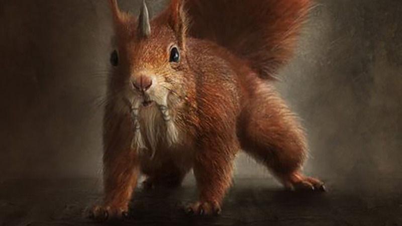Ratatoskr - O Esquilo Nórdico Mensageiro e Portador da Destruição